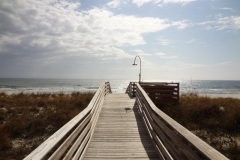 La Riva beach walkover